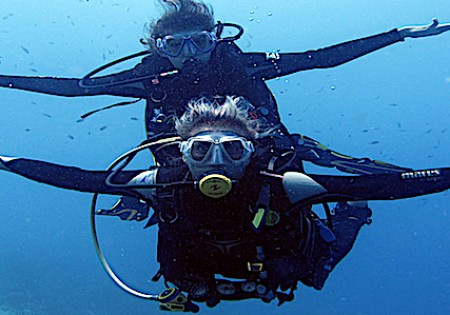 Dive trips to the east