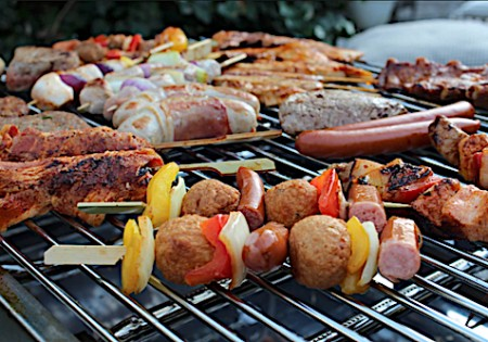 BBQ at the Resort, prepared by personal chef